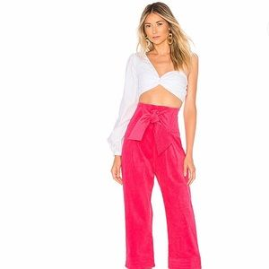 Revolve—Never been worn- Cropped Twin Trousers